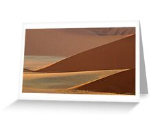 Triangle dunes Greeting Card