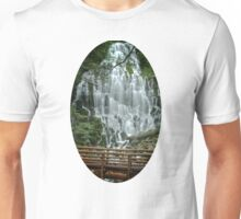 Ramona Falls in Oregon Unisex T-Shirt