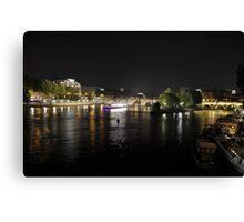 Du Pont des Arts Canvas Print