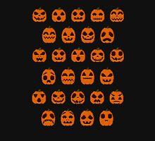 Pumpkin Pixel Patch Unisex T-Shirt