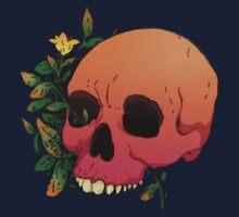 Flower Skull Kids Tee