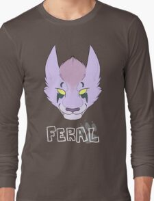 Proud to be Feral (Nightelf) Long Sleeve T-Shirt