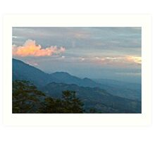 Honduran Sunset Art Print