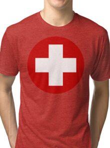Swiss Air Force Insignia Tri-blend T-Shirt