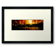 Impotent Despair...The Heart of Darkness Framed Print
