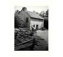 American Cottage Art Print