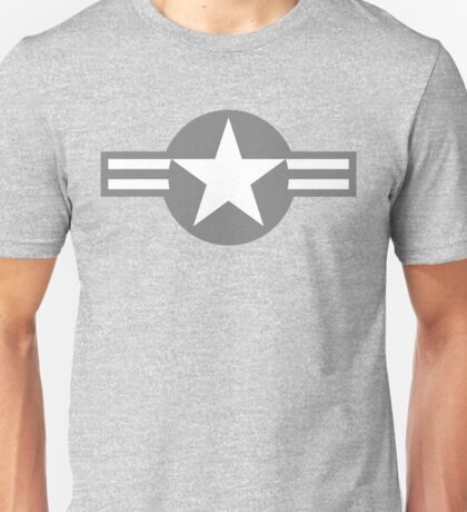 US Star Insignia (1947 to Present) Low Visibility Unisex T-Shirt