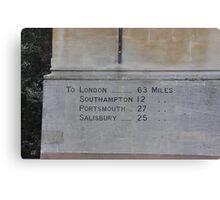 Winchester Milestone  Canvas Print