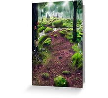 Sanctuary Forest Greeting Card
