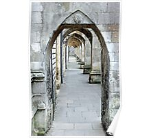 Winchester Cloisters Poster