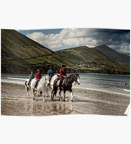 County Kerry Beachriders Poster