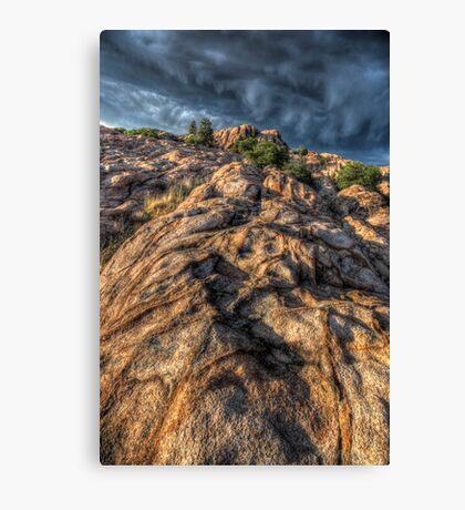 Stone Flow Canvas Print