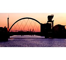 Clydeside at Dusk Photographic Print
