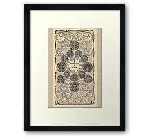 Art Time in the Big City Framed Print
