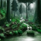 Green forest by Roberto Nieto