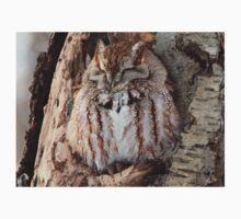Sleepy Screech Owl Kids Clothes