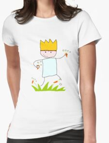 King of Carrot Flowers by Neutral Milk Hotel Womens Fitted T-Shirt