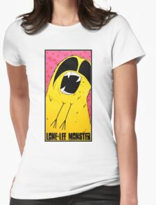 Lone-Lee The Gummy Bear Monster Womens Fitted T-Shirt