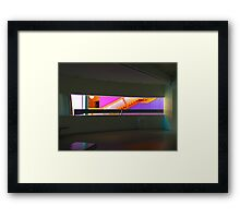 The Lowry Theatre Framed Print