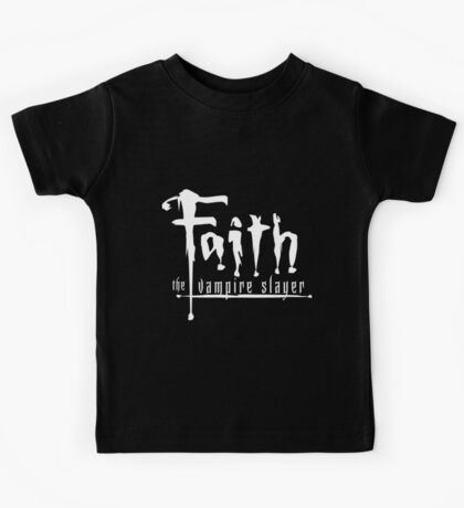 Faith the Vampire Slayer Kids Tee
