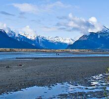 Chilkat River at Haines, Alaska by Yukondick