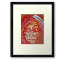 If Justice Is Blind, Why Does Liberty Weep? Framed Print
