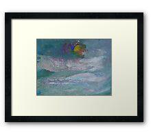 Cloud Moon Framed Print