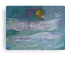 Cloud Moon Canvas Print