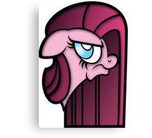 Pinkie (Diane) Pie Bust Canvas Print