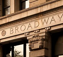 Broadway Sign by SOMATUSCANI