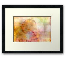 Summers Signal Framed Print