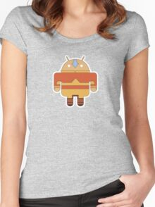 Aangdroid (no text) Women's Fitted Scoop T-Shirt