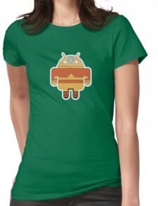 Aangdroid (no text) Womens Fitted T-Shirt