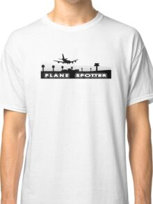 Plane spotter airfield Classic T-Shirt