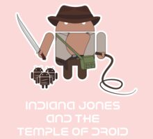 Indiana Jones and the Temple of Droid One Piece - Short Sleeve