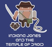 Indiana Jones and the Temple of Droid T-Shirt