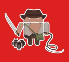 Indiana Jones and the Temple of Droid (No Text) Baby Tee