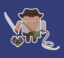 Indiana Jones and the Temple of Droid (No Text) by Malc Foy
