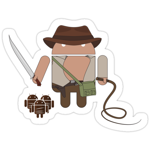 Indiana Jones and the Temple of Droid (No Text) by maclac