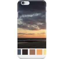 Sunset Color Scheme iPhone Case/Skin