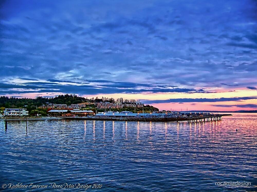 Edmonds Harbor by rocamiadesign