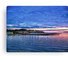 Edmonds Harbor Canvas Print