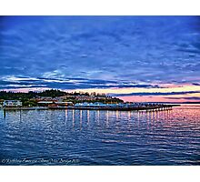 Edmonds Harbor Photographic Print