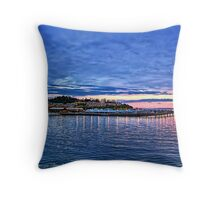 Edmonds Harbor Throw Pillow