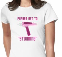 Phaser set to STUNNING! Womens Fitted T-Shirt