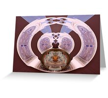Wormhole to Wheneverland Greeting Card