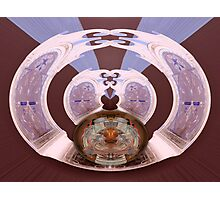 Wormhole to Wheneverland Photographic Print