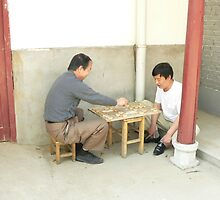 Your move - Chinese chess by Sandra Baxter