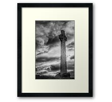 The Celtic cross Framed Print