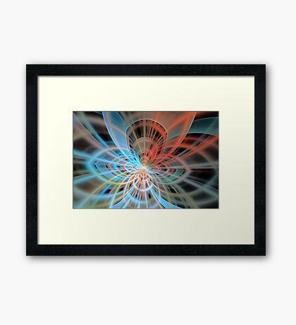 Soft Portal Framed Print